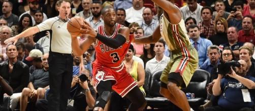 Wade, y los Bulls, podrían dejar sin playoffs a su ex equipo, el Miami Heat