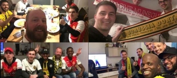 #BedForAwayFans: Quand les fans de Dortmund accueillent ceux de Monaco