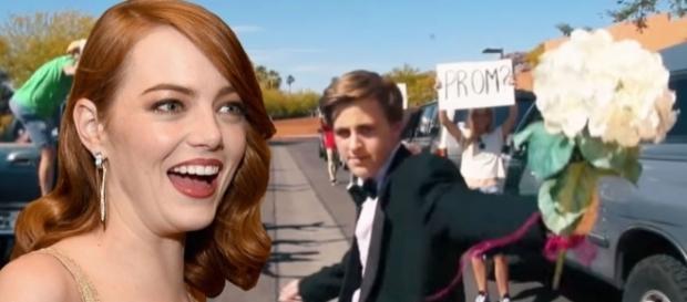 Emma Stone responds to US teen's La La Land 'promposal' - digitalspy.com