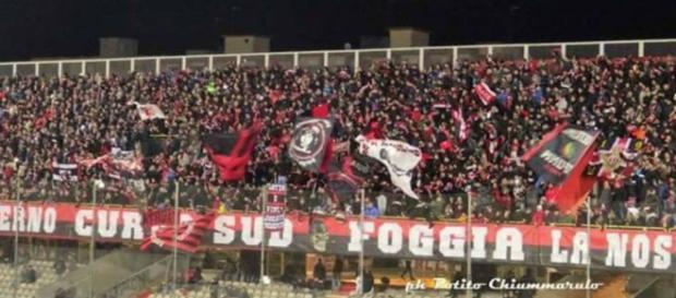 Entusiasmo a Foggia per la promozione vicina.