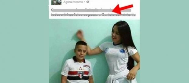 Garoto usou sua tia gata para conseguir curtidas e comentários no Facebook