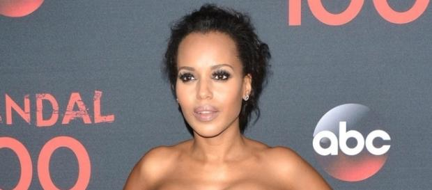 Kerry Washington 'Scandal' Red Carpet & Cast 100th Episode - Photo: Blasting News Library - footwearnews.com