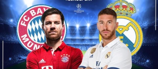 LIVE Bayern-Real Madrid: 'Lewandowski' OUT - diretta streaming