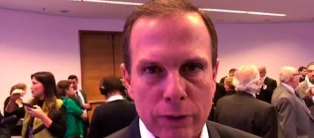 Prefeito de São Paulo, João Doria, decide falar sobre a situação de políticos do PSDB na lista de Fachin, do STF