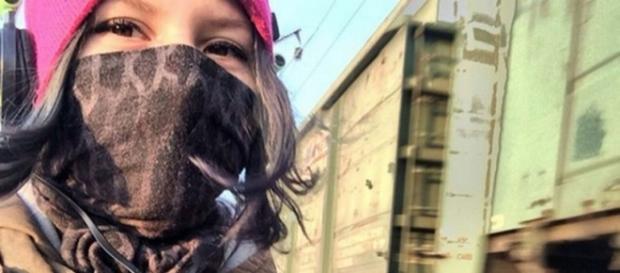 Suicídio de Rina Palenkova (17) teria inspirado o jogo (Foto: CEN)