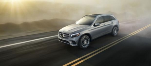 The 2017 Mercedes Benz GLC 300 4Matic- Exterior (photo via MBUSA)