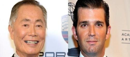 George Takei, Donald Trump Jr., via Twitter
