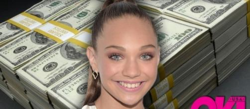 "It appears that Maddie Ziegler does not need ""Dance Moms"" anymore to be successful. (via Blasting News library)"