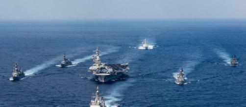 Nord Corea: storia della portaerei USS Carl Vinson, stella della marina Usa
