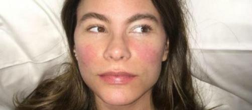 Sofia Vergara, linda mesmo sem maquiagem