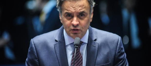 Aécio Neves, candidato derrotado em 2014