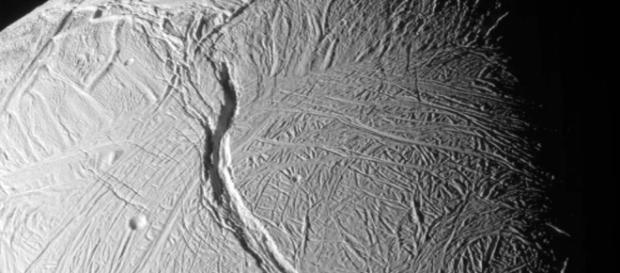 Immagine di Encelado della sonda Cassini