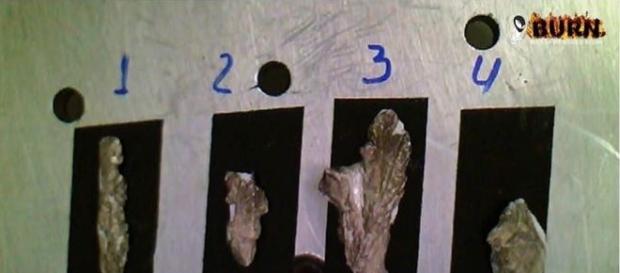 Resultado comprova que material achado em praia não é do nosso planeta (Josef David S. Prado/Edison Boaventura Jr.)