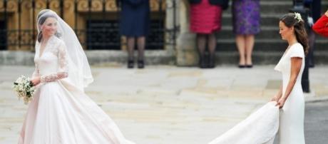 Kate Middleton : Pippa Middleton al matrimonio di Kate