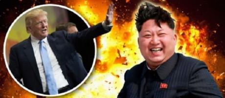 O exército da Coreia do Norte prometeu devastar os EUA, após ameaça de Trump (Foto: Reprodução)