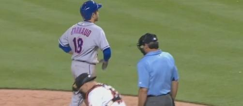 D'Arnаud at the end of his winning home run, Youtube MLB channel https://www.youtube.com/watch?v=-1lDaB3o8qY