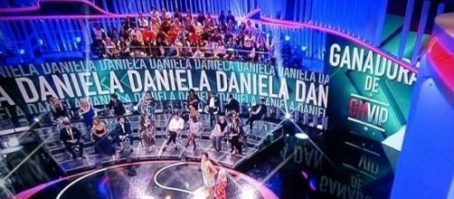 Durante unos segundos Daniela pudo ser la ganadora de GH VIP 5