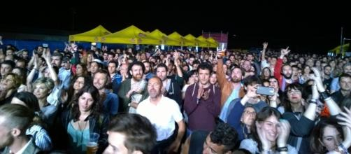 Estamos en el segundo día del festival SANSAN de Benicàssim
