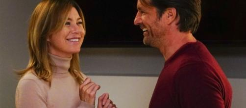 Meredith and Riggs continue their back and forth on 'Grey's Anatomy' [Image via Blasting News Library]