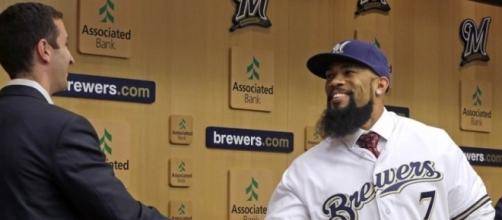 Milwaukee Brewers Sign KBO Star Eric Thames – Rincon Sports - rincon-sports.com