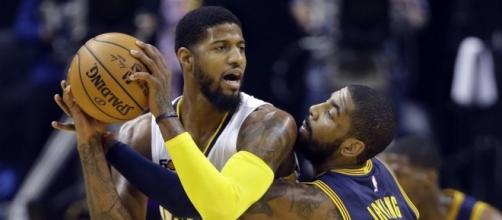 Paul George is looking forward to playing against Cleveland - newsok.com
