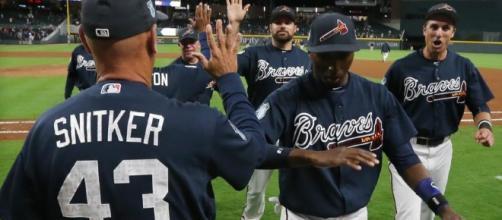 Photos: Atlanta Braves vs. New York Yankees at SunTrust Park ... - wsbradio.com