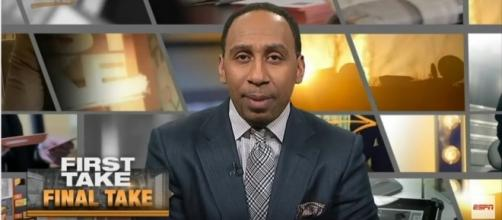 Stephen A. Smith, Photo credit: YouTube screenshot