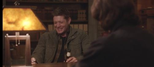Watch the Supernatural blooper that made Jensen Ackles cry! (via Twitter - Jensen Ackles)