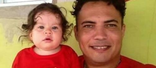 Yankka Avelino Martins tem nove meses de vida (Foto: Safira Avelino / Arquivo Pessoal)