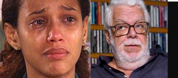 Taís Araújo e Manoel Carlos - Imagem/Google