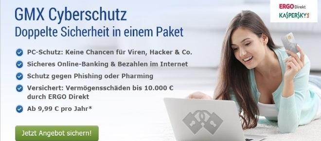 GMX Cyberschutz von ErgoDirekt im Check: Teuer und überflüssig.