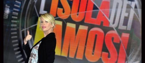 Alessia marcuzzi, conduttrice dell'Isoal Dei Famosi 2017.