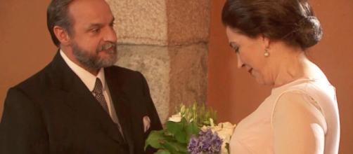 Il Segreto: il secondo matrimonio di Francisca e Raimundo.