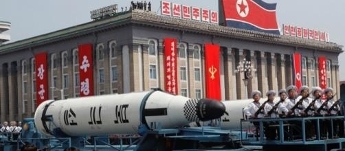 LOOK: North Korea parades apparently new missiles | ABS-CBN News - abs-cbn.com