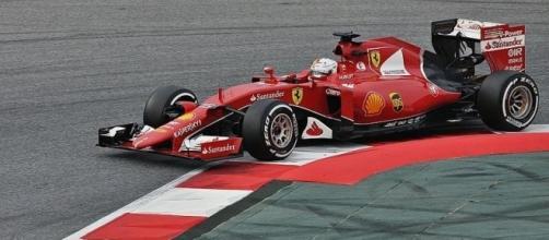 Sebastian Vettel-Ferrari, Wikimedia Commons https://commons.wikimedia.org/wiki/File:Sebastian_Vettel-Ferrari_2015_(3).JPG