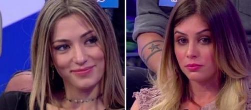 Soleil Sorgé bacia Luca e deride Giulia Latini