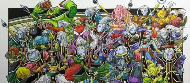 Ilustración de todos los dioses