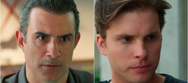 Imagem: Ricardo e Caio na novela 'Malhação'.