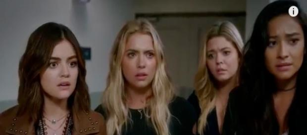 Pretty Little Liars episode 11,season 7 screenshot via Andre Braddox