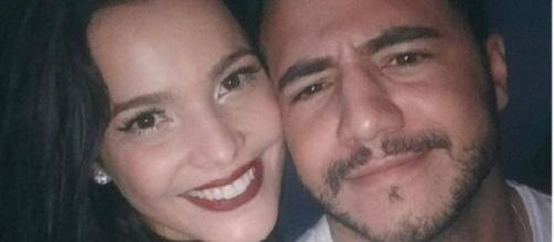 Emilly e Matheus Lisboa fotografaram juntos em uma festa (Foto: Reprodução/Instagram)