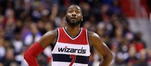 John Wall and the Wizards start their playoff series against Atlanta on Sunday afternoon. [Image via Blasting News image library/inquisitr.com]