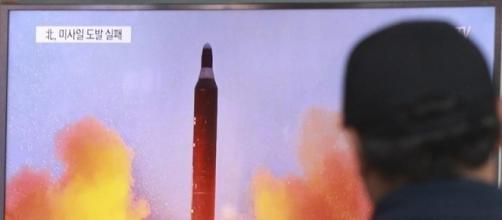 La Corea del Nord lancia un missile disobbedendo agli U.S.A.