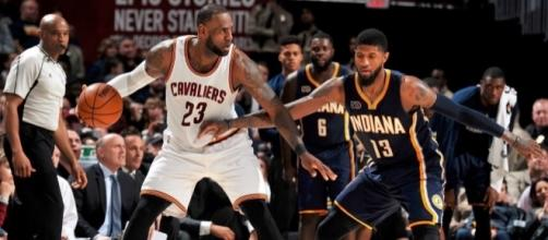 Two-Minute (Two-Ahh): Paul George and LeBron James battle as ... - ipacers.com