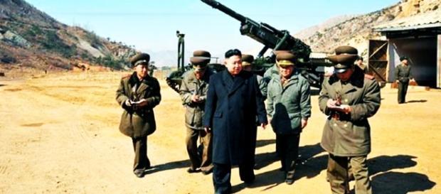 Ameaças constantes de guerra, Coreia do norte contra USA