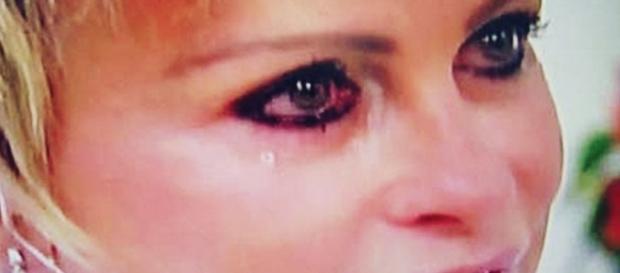 Ana Maria Braga chora em programa - Imagem/Google