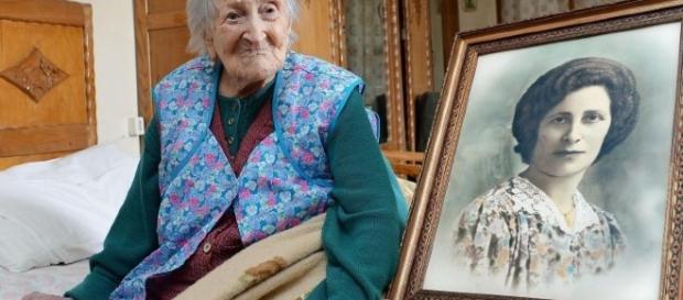 La 'decana' del pianeta, la nonna del mondo, Emma Morano ci ha lasciato ieri a 117 anni e un record da guinness dei primati. Foto: Skytg24.