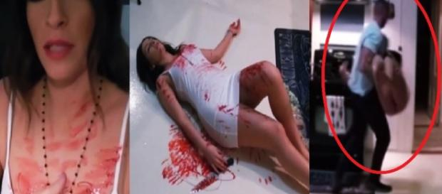 Mulher tenta se fingir de morta e acaba se dando mal