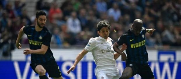 """Milan e Inter igualaron 2-2 en el primer derby Della Madonnina """"chino"""". Foto: eluniversal.com"""