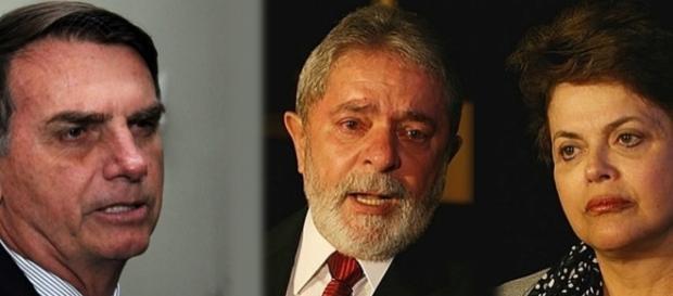 Notícias falsas envolvendo Bolsonaro, Lula, Sérgio Moro e Dilma repercutiram no país (Foto: Reprodução)