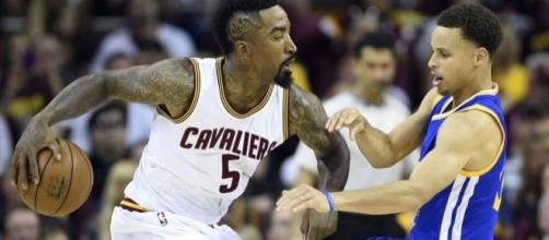 J.R. Smith takes a shot at the Warriors - usatoday.com